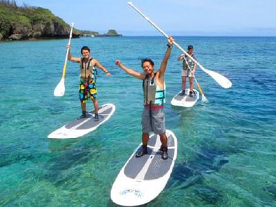 SUPツアー&サーフィン体験